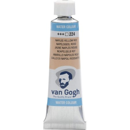Tinta Aquarela Talens Van Gogh Naples Yellow Red 224 Tubo 10ml