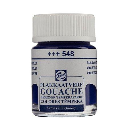Tinta Gouache Talens Extra Fine 16ml Blue Violet 548 Roxo