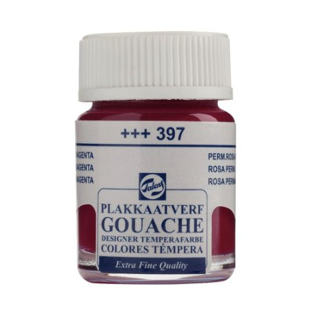 Tinta Gouache Talens Extra Fine 16ml Magenta 397 Fúchsia