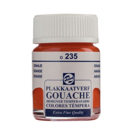 Tinta Gouache Talens Extra Fine 16ml Orange 235 Laranja