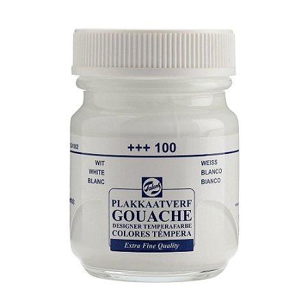 Tinta Gouache Talens Extra Fine 50ml White 100 Branco