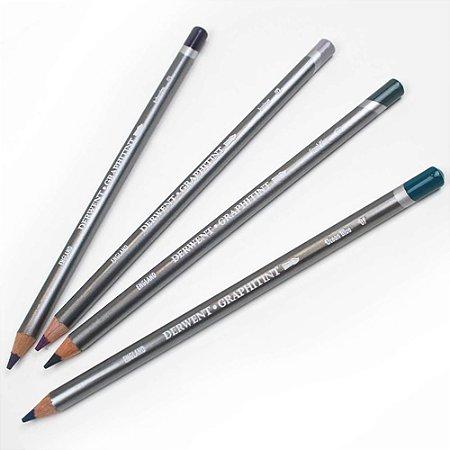 Lápis Cor Derwent Aquarelável Graphitint 06 Steel Blue Un 700782