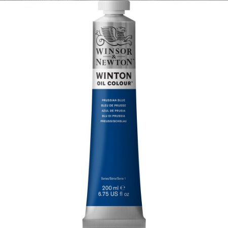 Tinta Óleo Prussian Blue Winsor & Newton 200ml 1437538