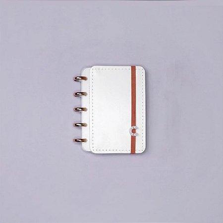 Caderno Inteligente All White Inteligine Pequeno 50 Fls