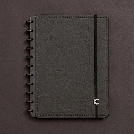 Caderno Inteligente Médio Black Ecologico 80 Fls