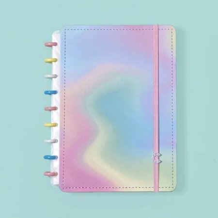 Caderno Inteligente A5 Candy Splash Colorido 80 Fls