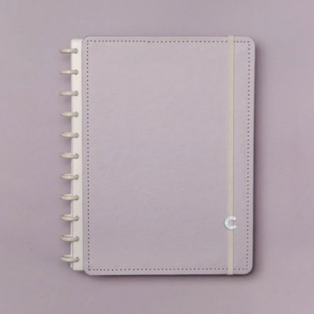 Caderno Inteligente Grande Lilás Pastel Roxo 80 Fls