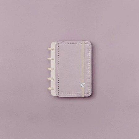 Caderno Inteligente Pequeno Lilás Pastel Inteligine Roxo