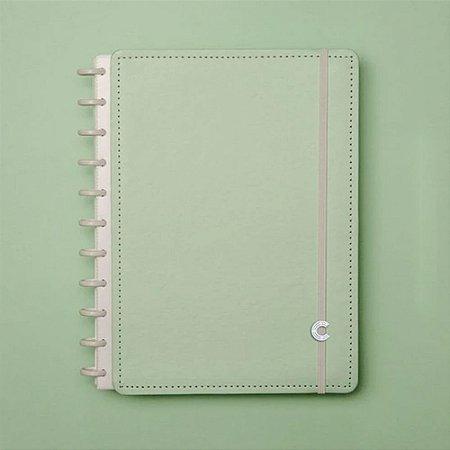 Caderno Inteligente A5 Verde Pastel 80 Fls