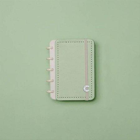 Caderno Inteligente Pequeno Verde Pastel Inteligine