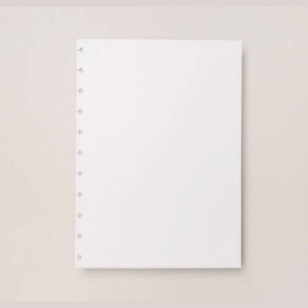 Refil Liso 90G Caderno Inteligente A5 Cira2002