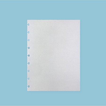 Refil Pontilhado Linha Branca 90G Caderno Inteligente A5 Cira2015