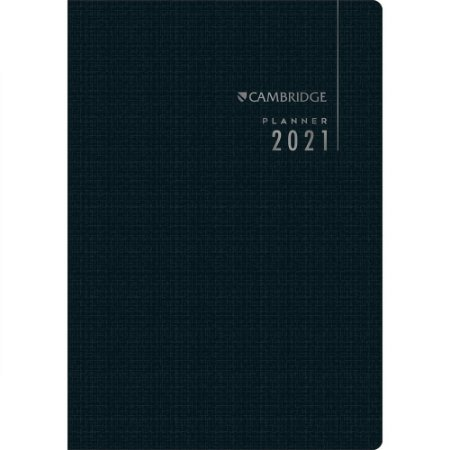 Planner Tilibra Executivo Cambridge 2021 Médio Grampeado