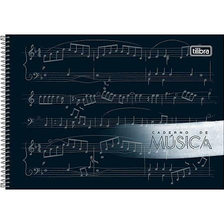 Caderno Tilibra De Musica Pequeno 80Fls