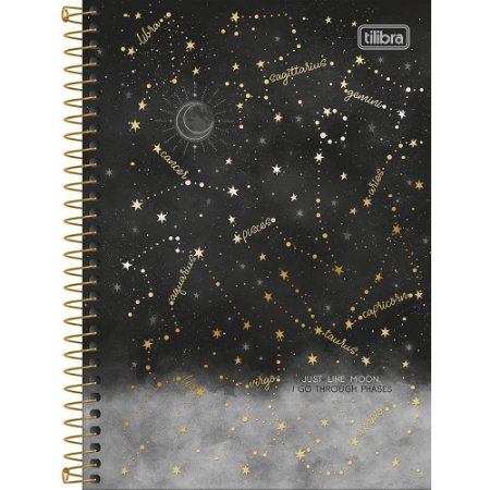 Caderno Magic 16 Matérias Universitário Espiral 256Fls Tilibra 295418