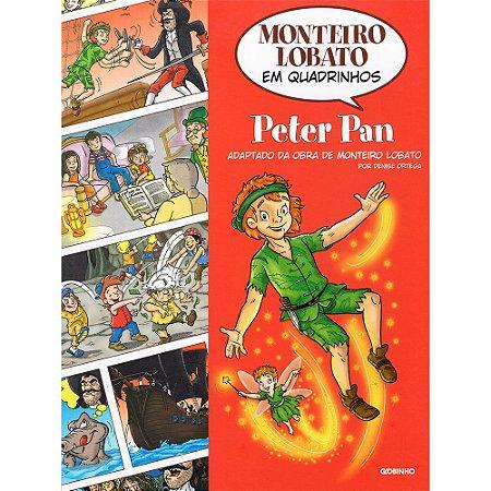 Monteiro Lobato Em Quadrinhos Peter Pan
