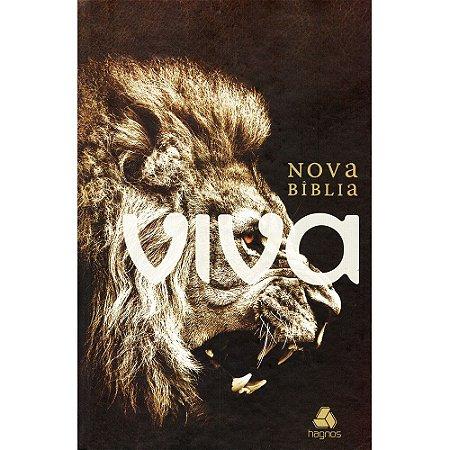 Nova Bíblia Viva - Rugido (Capa Dura)