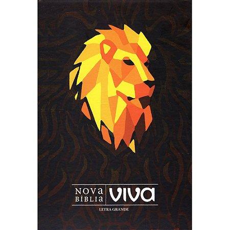 Nova Bíblia Viva - Leao Tribo Judá (Capa Dura / Letra Grande)