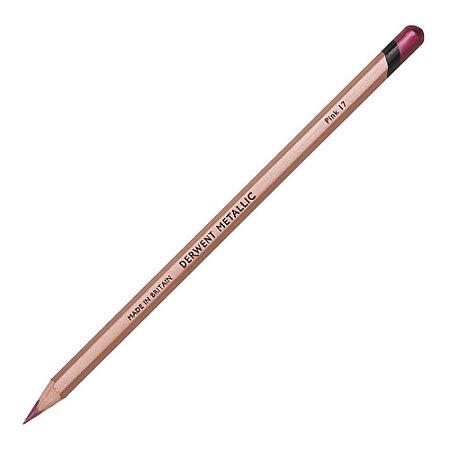 Lápis De Cor Permanente Metallic Pink Unitário