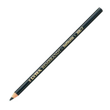 Lápis Carvão Lyra Rembrandt Médio Aquarelável