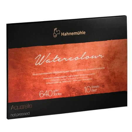 Bloco The Collection Watercolour 640 g/m² Hot Pressed 30x40 Hahnemuhle