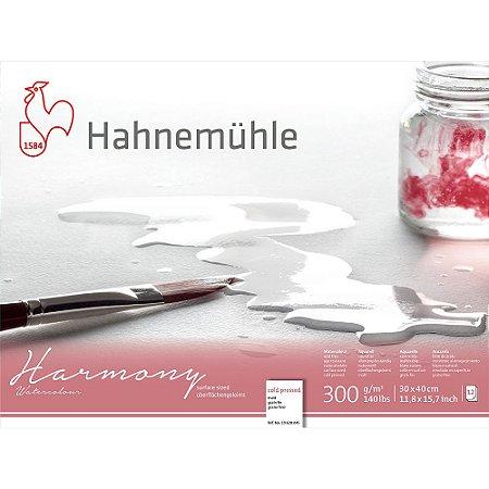 Bloco Aquarela Harmony 300 g/m² Cold Pressed 30x40 Hahnemuhle
