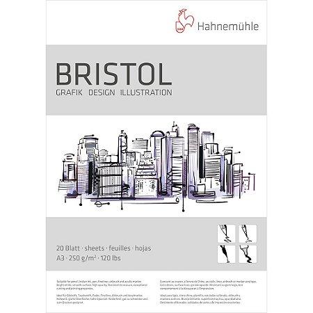 Bloco Bristol A3 Hahnemuhle 250 g/m² 20 Folhas Ilustração