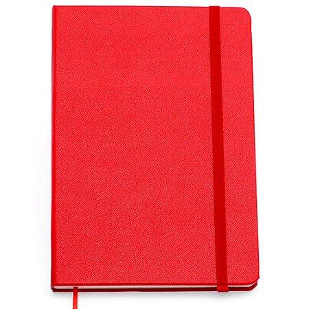 Caderneta Clássica Cicero Sem Pauta Vermelha 14x21 160 Fls