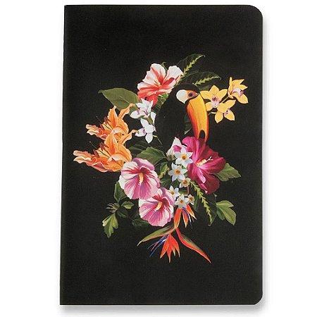 Caderneta Cicero Meu Pequeno Fauna Tropical Sem Pauta 14x21