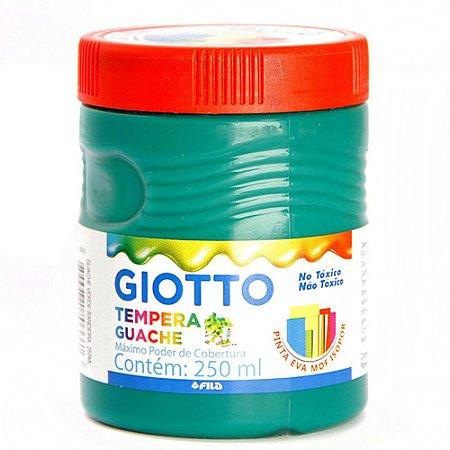 Tinta Guache Giotto Verde Bandeira 250Ml