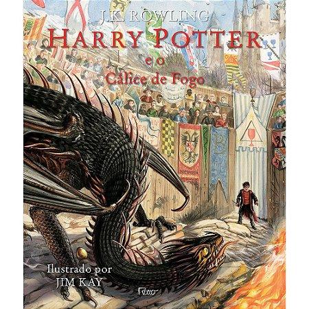 Harry Potter E O Cálice De Fogo (Ed. Ilustrada)