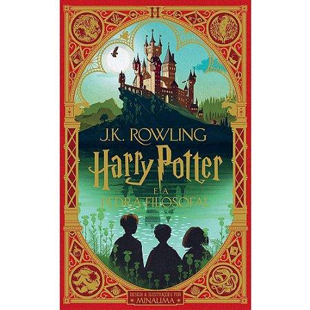 Harry Potter E A Pedra Filosofal (Ilustrado Por MinaLima)