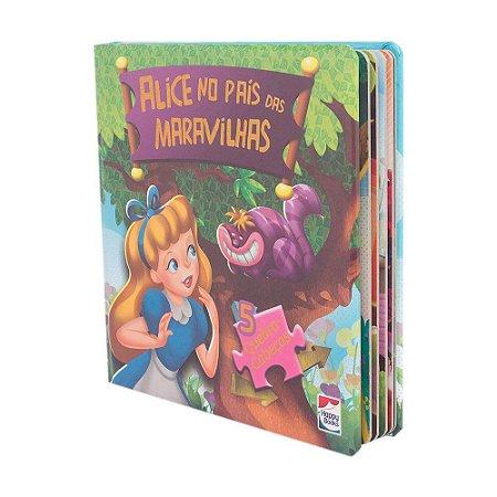 Clássicos Em Quebra-Cabeças: Alice No País Das Maravilhas