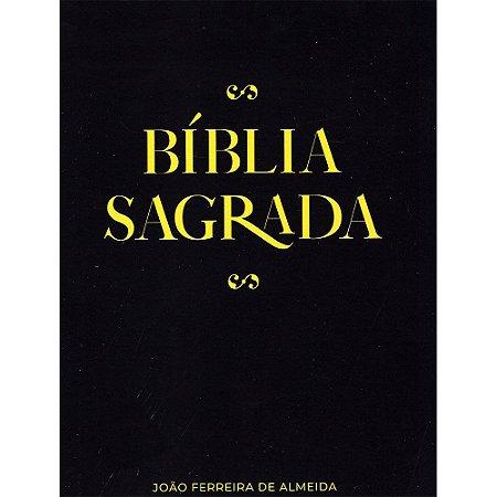 Bíblia Sagrada Arc - Capa Brochura - Preta