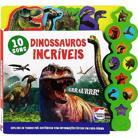 Supersons Clássicos Com Abas: Dinossauros Incríveis