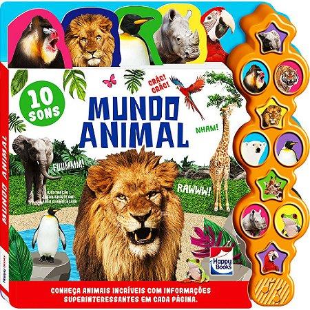Supersons Clássicos Com Abas: Mundo Animal