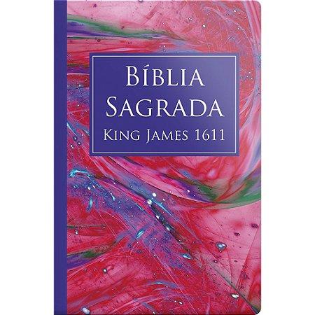 Biblia Sagrada King James 1611 - Capa Especial Marmorizado