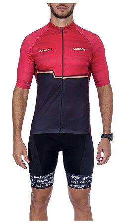 Camisa Ciclismo WOOM Smart Lava Masc 2021