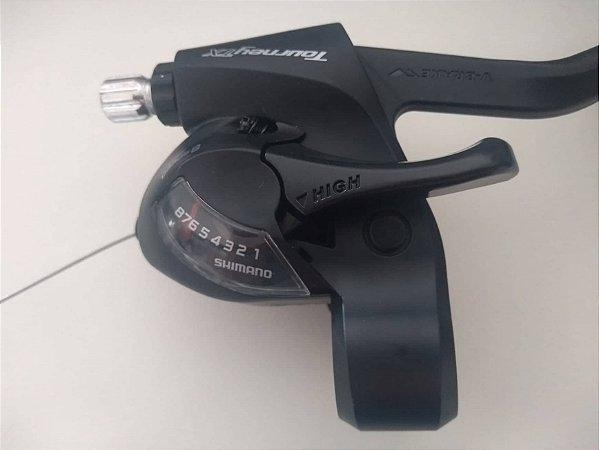 Alavanca Cambio/Freio Tourney ST-TX800 Dir 8V
