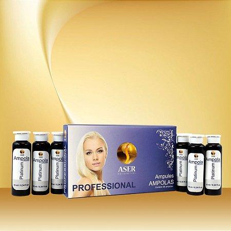 Ampolas Platinum - 6 Ampolas de 10 ml