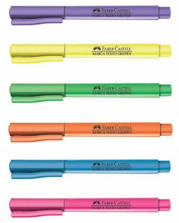 Marca Texto FABER-CASTELL Grifpen