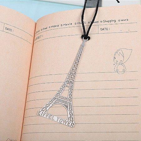 Marca Página Metálico Torre Eiffel