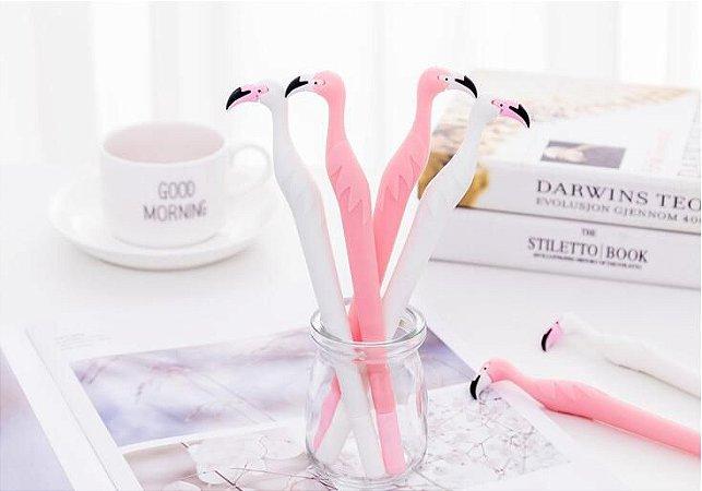 Caneta Flamingo Em Gel