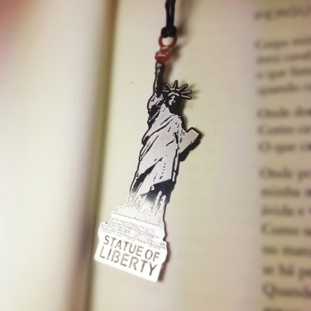 Marca Página Metálico Estátua da Liberdade