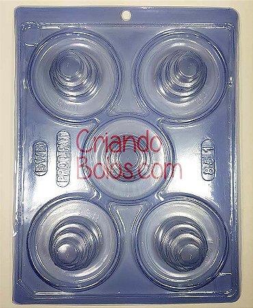 Forma de Silicone MINI BOLOS 3 ANDARES (Baby Cake)