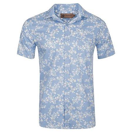 Camisa flower C0002