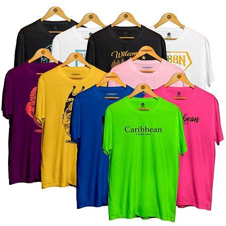 Kit 10 Camisetas Sortidas