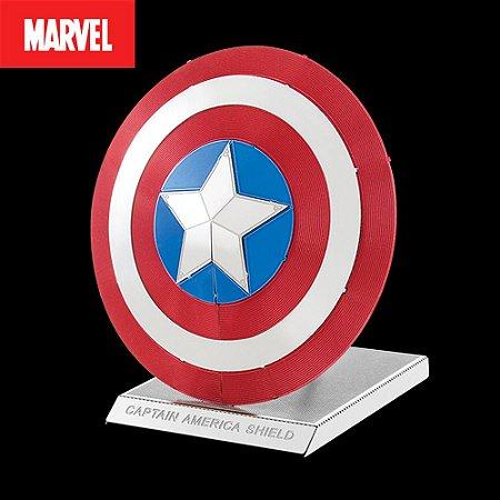 Escudo Capitão América - Marvel - Metal Earth