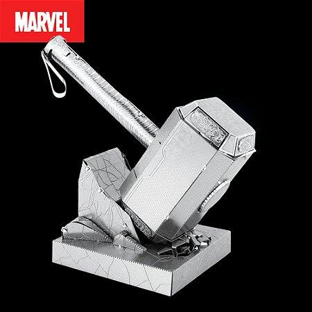 Martelo do Thor - Mjolnir - Marvel - Metal Earth