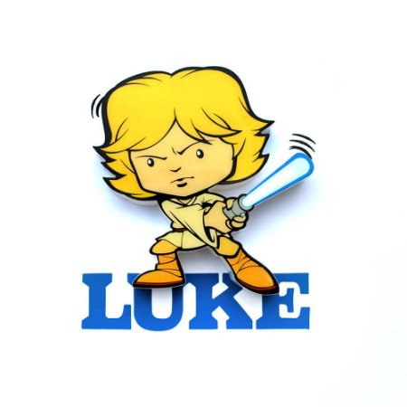 Mini Luminária Luke Skywalker - Star Wars